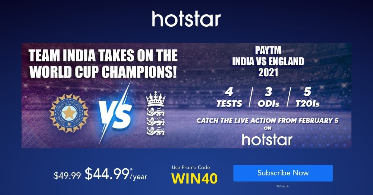 Watch IPL on Hotstar