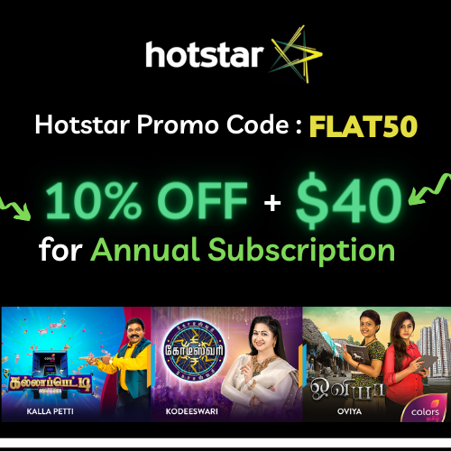 Hotstar Canada Subscription