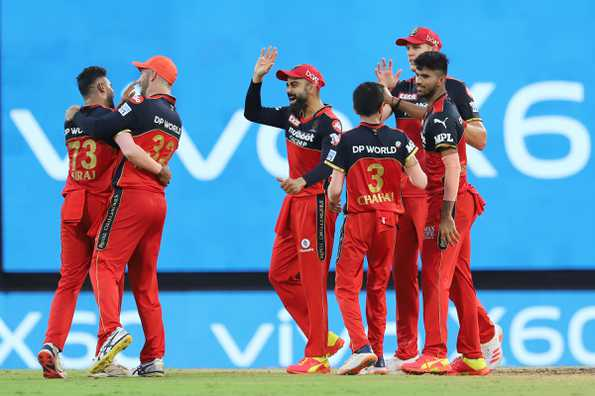 Why is RCB on the top of the table in IPL 2021